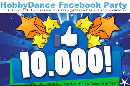 Sarbatorim 10.000 de fani pe Facebook!