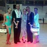 Diana, Mihai, Melania, Stelian, Gabriela club de dans