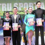 Andreea, Dani, Ilinca, Stefan, cursuri dans