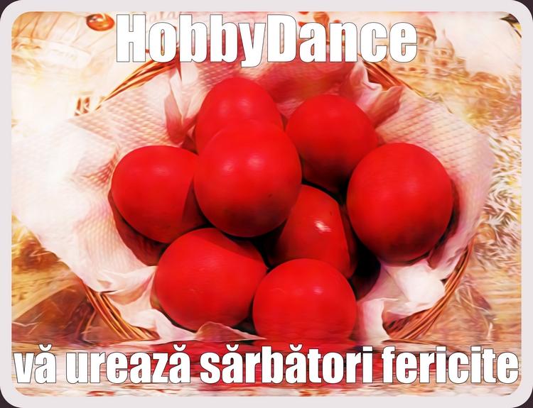 Clubul de dans HobbyDance va ureaza sarbatori fericite!