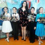 Club dans sportiv - Clara, David, Ana-Maria Crisan, Mihai, Bianca