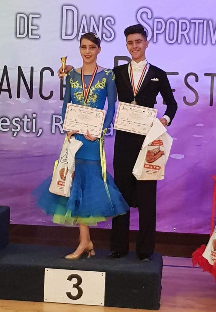 Andreea si Robert - Cupa Dance Prestige Lectii de dans