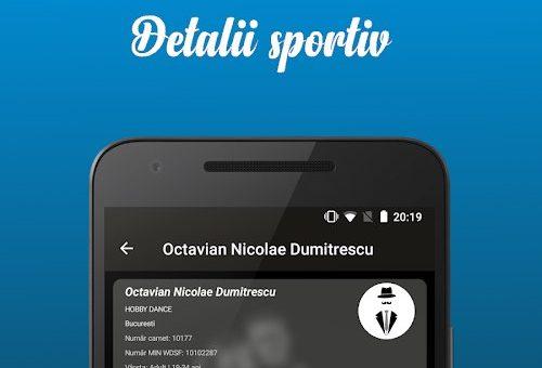 Aplicatia HobbyDance si punctele sportivilor