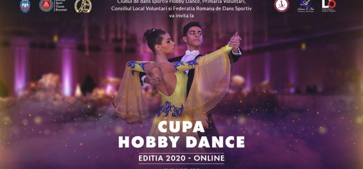 Cupa HobbyDance 2020 – online